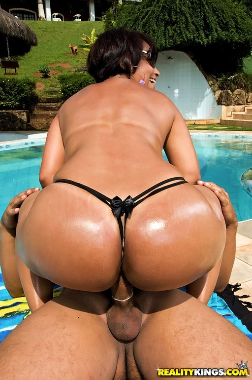 Hottest naked brazilian ass