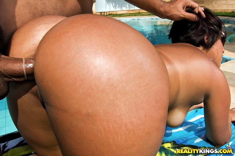 Big ass brazilian butt